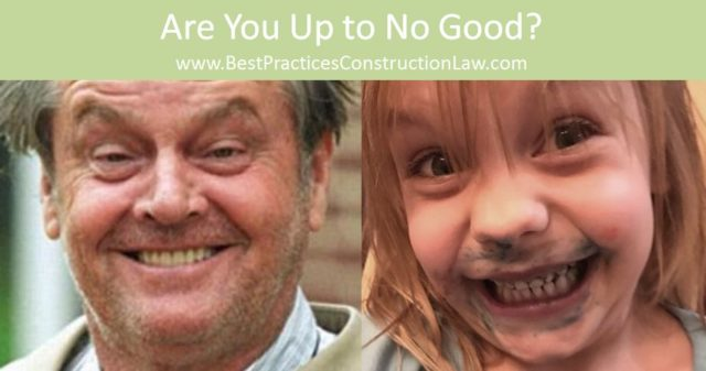 When Is A Contractor's Termination for Default Proper? When It Does Bad Things.